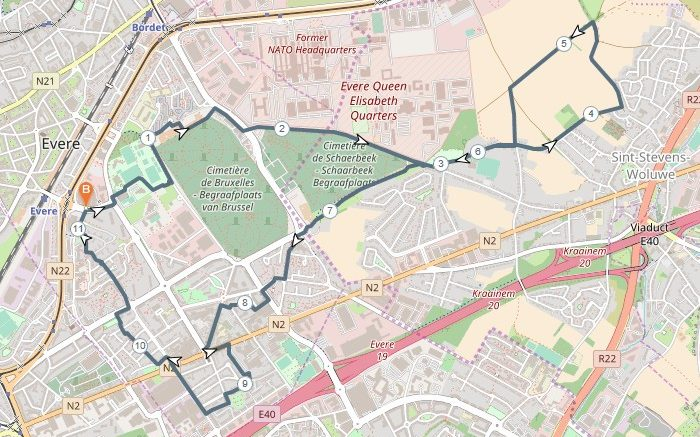 general overview of walk